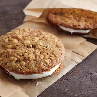 Zucchini Cream Cheese Sandwich Cookies
