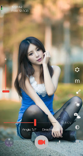 DSLR Camera - Ultra Zoom Blur Background screenshot 7