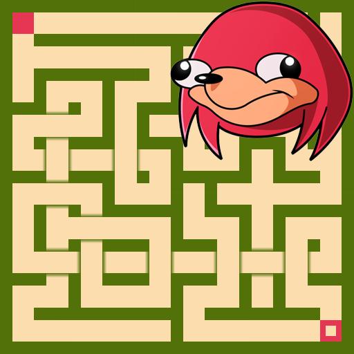 Ugandan Knuckles Maze Escape
