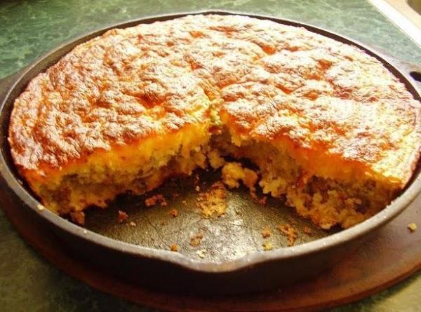 Cornbread Skillet Dinner Recipe