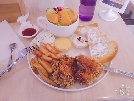 很好吃的早午餐👍👍