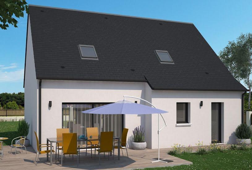 Vente Terrain + Maison - Terrain : 641m² - Maison : 108m² à Châteauneuf-sur-Loire (45110)
