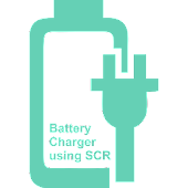 Battery charger using SCR