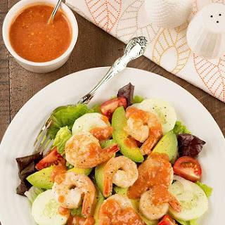 Shrimp Cocktail Salad.