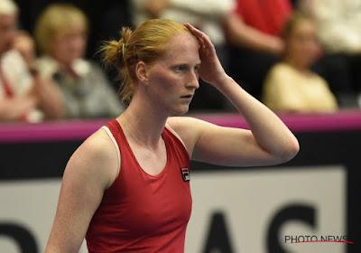 Fed Cup : Alison Van Uytvanck sait ce qui a fait la différence face à Carla Suarez Navarro