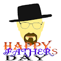 Father Day Card with Love icon