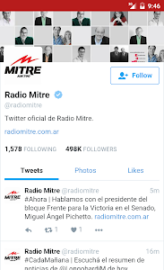 Radio Mitre 790 AM screenshot 2