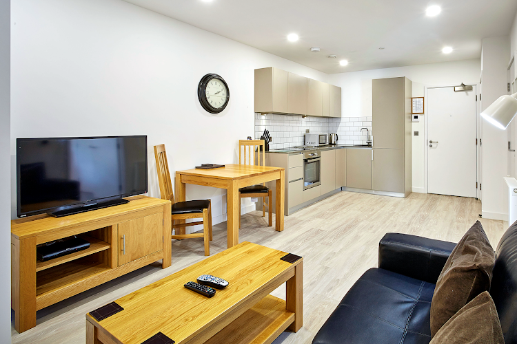 Living area at Platform Apartments - Bracknell