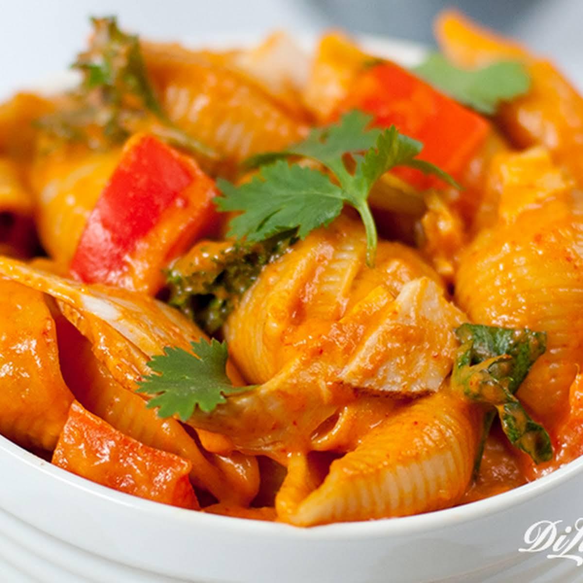 Thai Red Curry Mac Cheese
