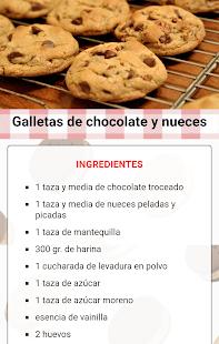 Recetas de galletas faciles 1