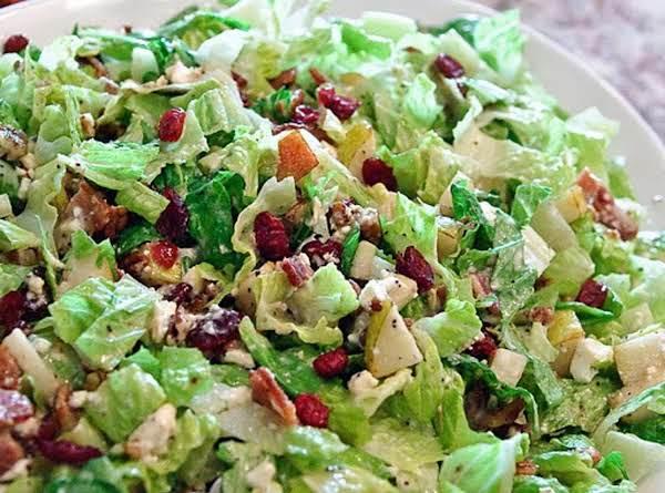 Autumn Chopped Cranberry Salad Recipe