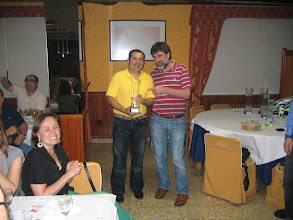Photo: Juan Noya 2º clasificado 2ª división