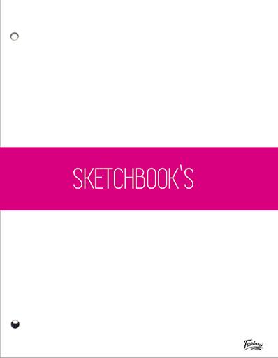 hojas sketchbook fantasy 80 und Fantasy