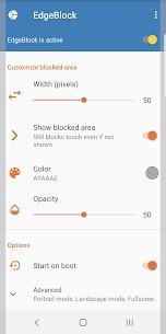 EdgeBlock: Screen edge touch blocker 2