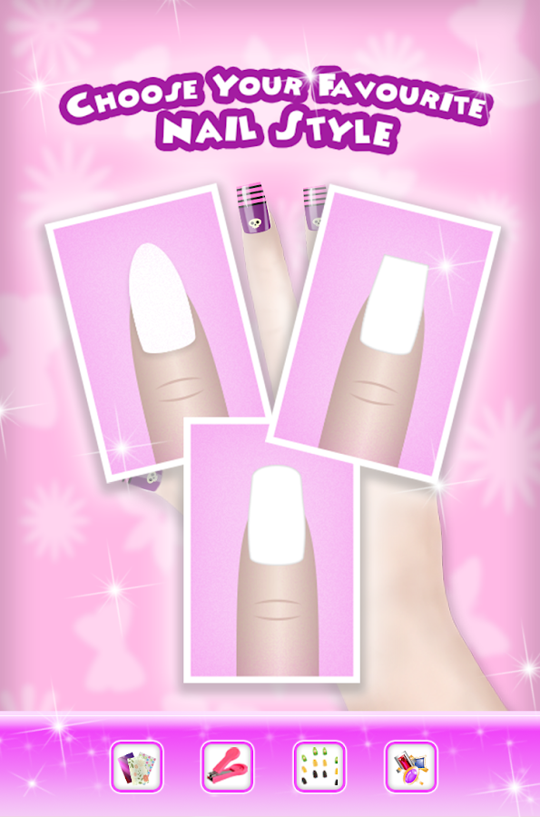 Nail art dress up salon 2 android apps on google play for A nail salon game