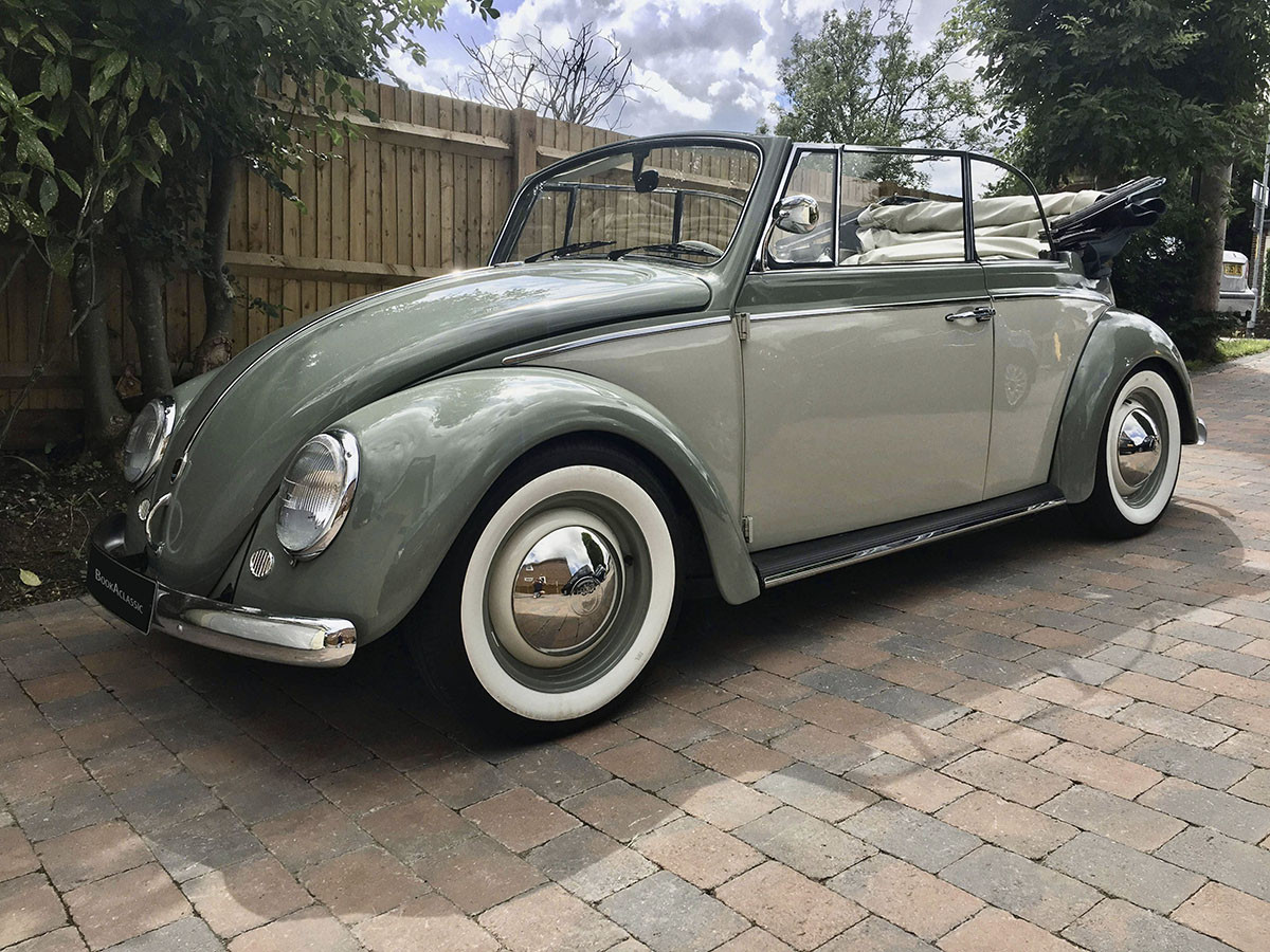 Volkswagen Beetle Cabriolet Hire Chatham