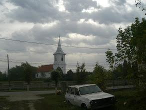 Photo: A marosbogáti református templom.