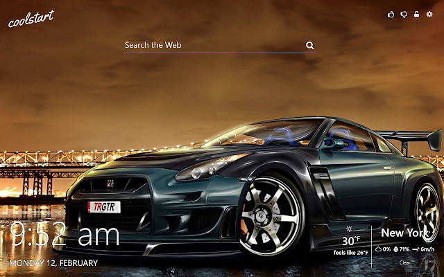 Nissan GTR HD Wallpapers Sports Cars Theme