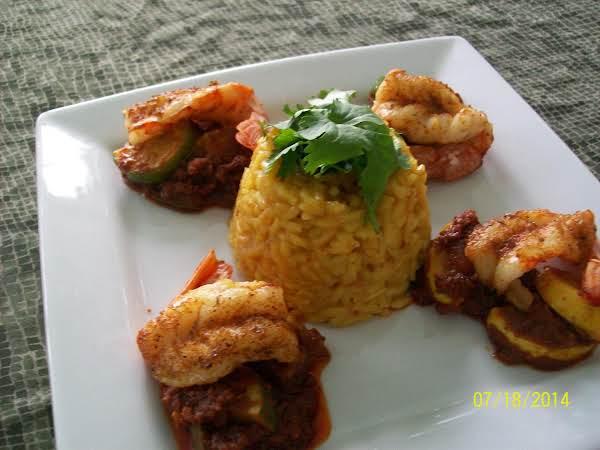 Spicy Chorizo Shrimp! That's Easy To Make.