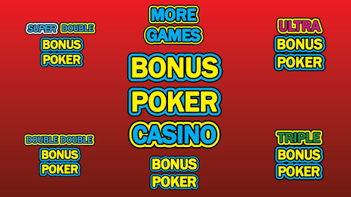 Bonus Poker Casino Video Poker