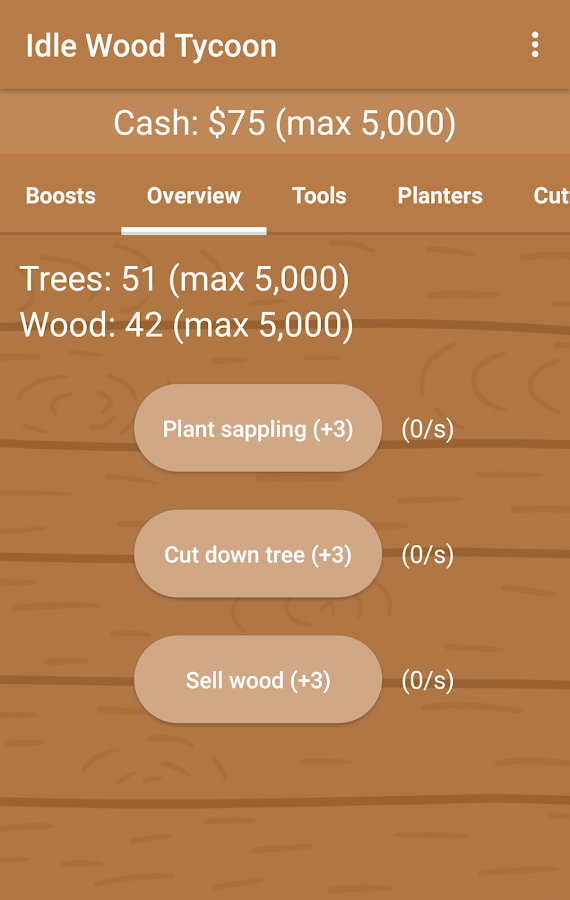 Idle Wood Tycoon- screenshot