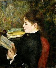 "Photo: Pierre-Auguste Renoir, ""Donna seduta che legge"" (1887)"