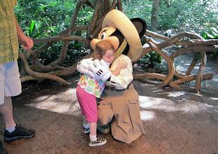 Photo: Minnie  at Disney Animal Kingdom