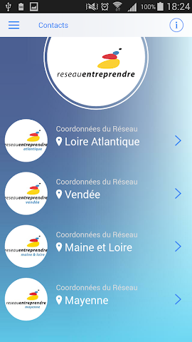 android REPDL Annuaire Screenshot 3