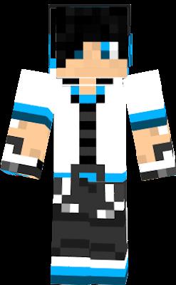 blue+creeper+hoodie | Nova Skin