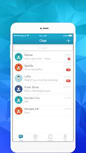 SealedChat - náhled