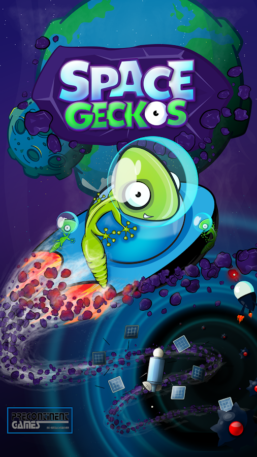 Space Geckos - Rescue Mission- screenshot