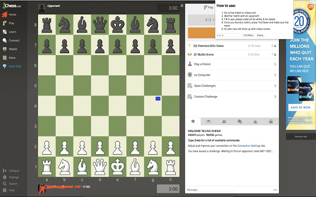 Chess Extension