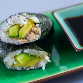 Canned Tuna Sushi for Kids.