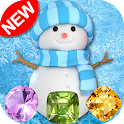 Snowman Games & Frozen Puzzles match 3 games free icon