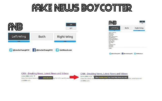 Biased News Boycotter