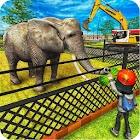 zoo degli animali: costruisci e costruisci il mond icon