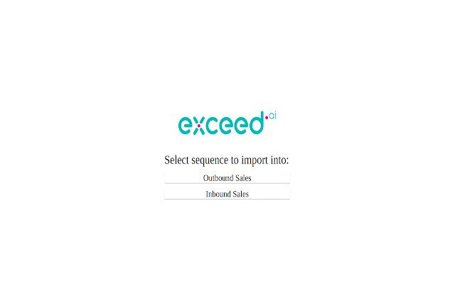 Exceed.ai Salesforce Plugin