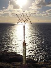 Photo: Der Metatron Lichstab auf der Insel Gozo