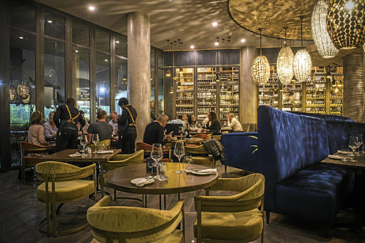 Elegance and African opulence are the order of the day at Epicure, a high-end African restaurant in Sandton.