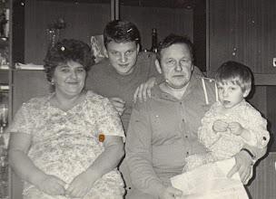 Photo: Kukulskis Jonas su šeima. Nuotrauka iš Zofijos Kukulskytės asmeninio albumo.