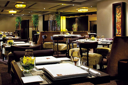Holland-America-Tamarind-Restaurant.jpg - Head to the Tamarind Restaurant for dining that evokes the rich culinary traditions of Southeast Asian, China and Japan.