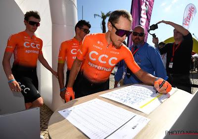 Trentin geeft teken van leven met derde plaats in openingsrit in Algarve