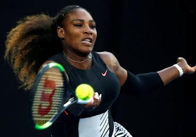 Serena Williams bevestigt meteen favorietenstatus op de Australian Open