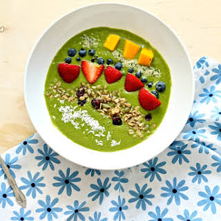 Matcha Avocado Smoothie Bowl.