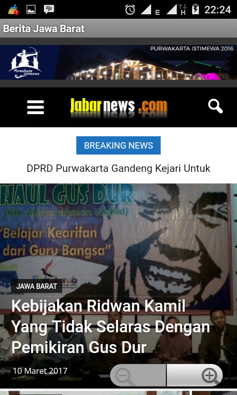 Jabar News- screenshot