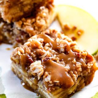 Caramel Apple Pie Blondies