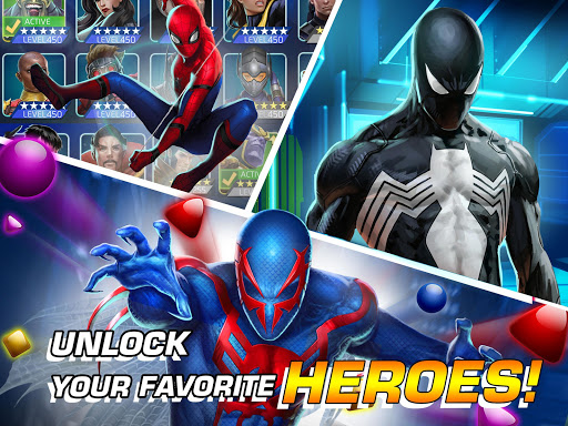 MARVEL Puzzle Quest: Join the Super Hero Battle! 204.531444 screenshots 9