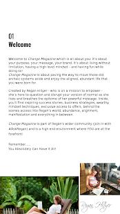 Change Magazine - náhled