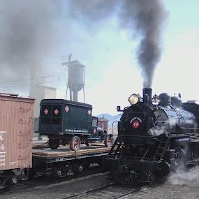 by Rick Denton - Transportation Trains
