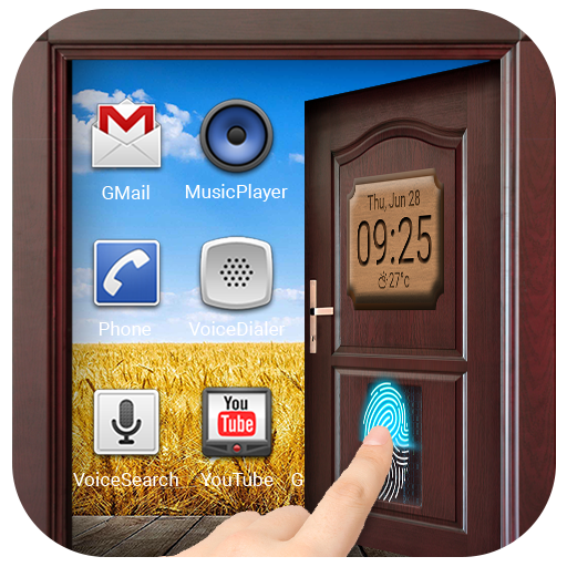 Unlock Door Lockscreen with Fingerprint Prank
